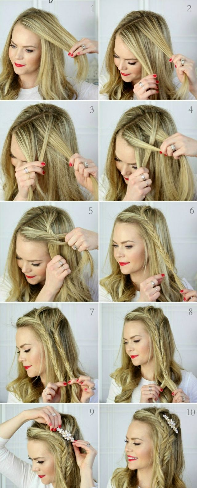 lovely beautiful hairstyles for shoulder-length hair to make yourself collection-top Beautiful Hairstyles for Shoulder-length Hair to Do Self Reviews