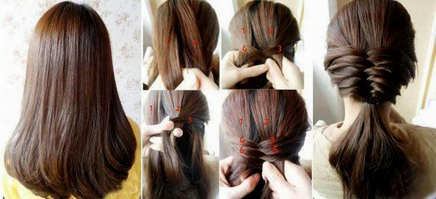 stylish braided hairstyle instructions with pictures foto-Modern braided hairstyles Instructions With pictures Design