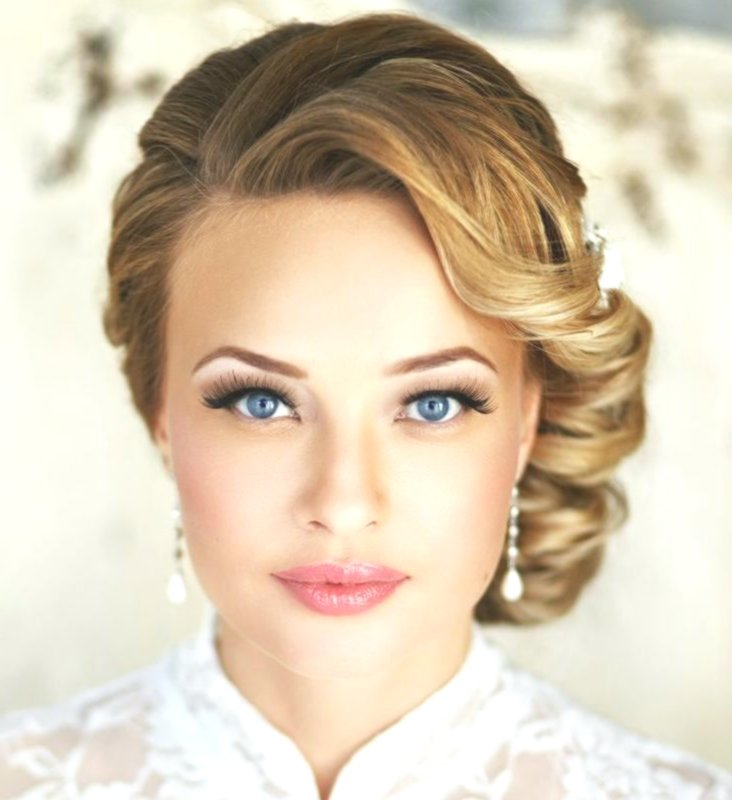 Stylish wedding hairstyles medium length hair background-Superb wedding hairstyles medium-long hair design