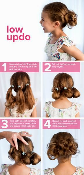 fantastic flower girl hairstyles gallery-Elegant flower girl hairstyles portrait