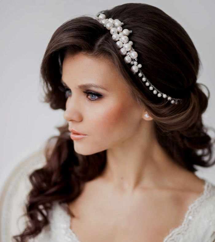 Lovely wedding hairstyles curls décor-Breathtaking wedding hairstyles curls models