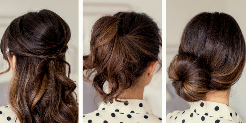 top fast simple hairstyles design-Nice Fast Easy Hairstyles layout
