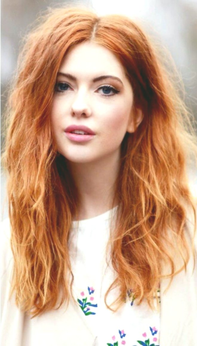 Nice red hair dyeing photo picture - Lovely red hair dyeing layout