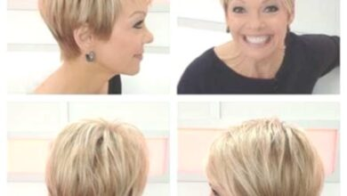 Photo of 25 simple short hairstyles for older women