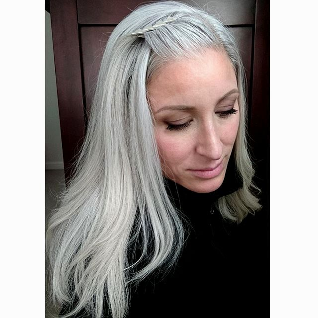 luxury gray hair décor-Awesome Gray Hair Inspiration