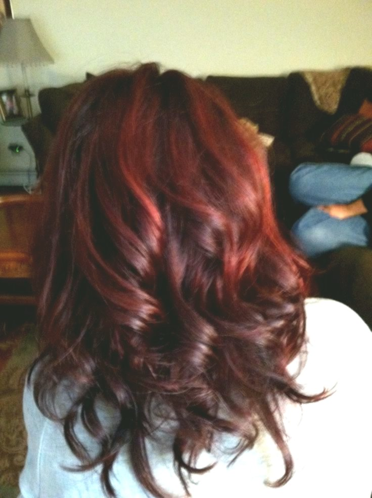 new red hair color for dark hair inspiration - Fascinating Red Hair Color For Dark Hair Collection