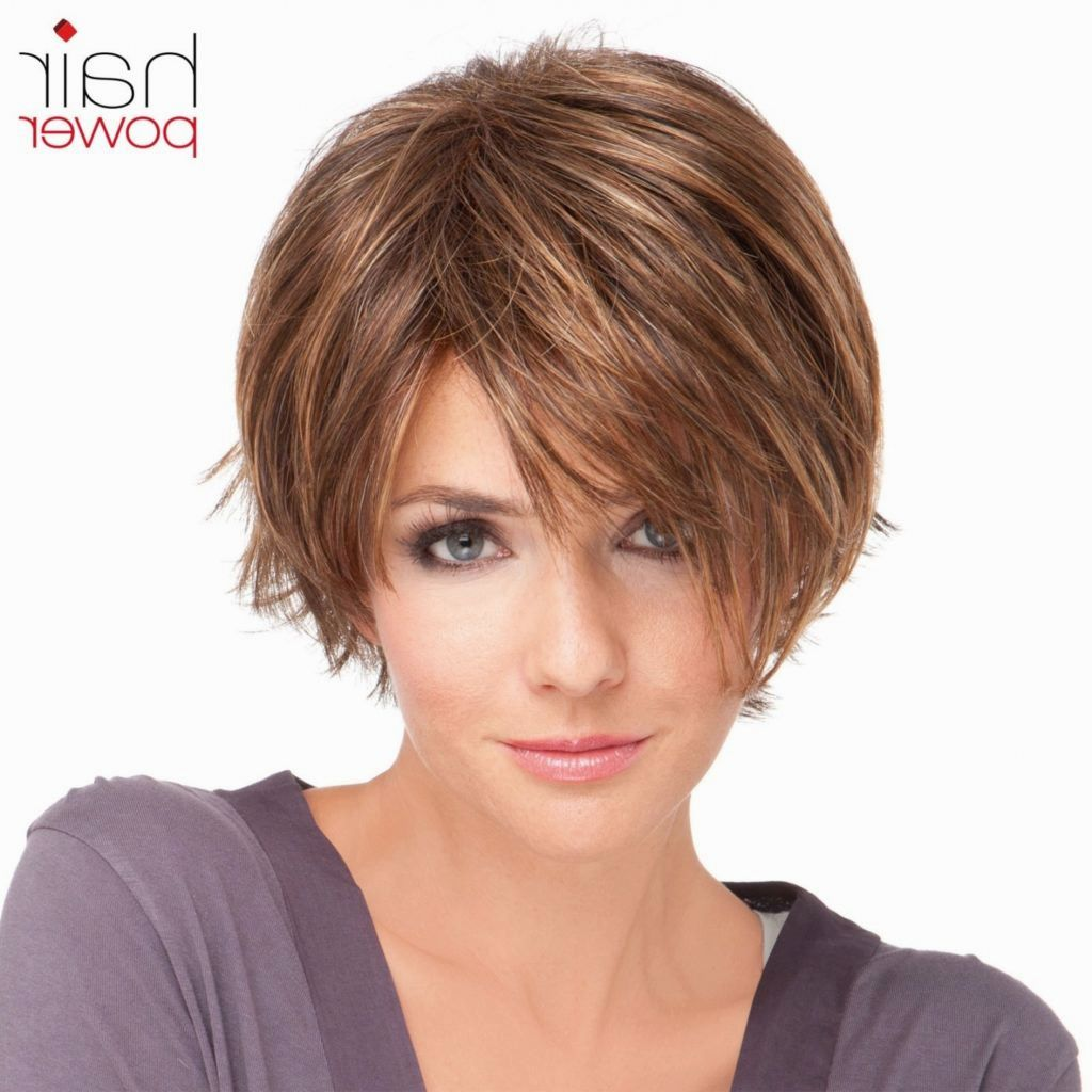 luxury short hairstyles fringy design-charming short hairstyles Fransig models