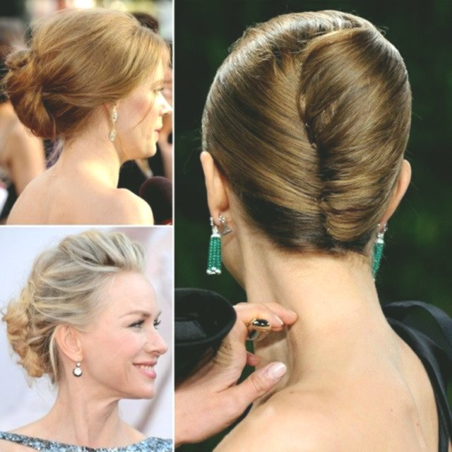 fancy updo brief hair guide collection-modern updo Short hair guide image