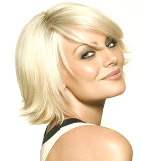 unique hairstyles for half-length hair picture-new hairstyles for half-length hair design