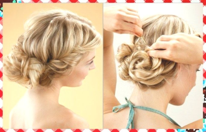 Fantastic updos for mid-length hair background-Finest updos for mid-length hair decoration