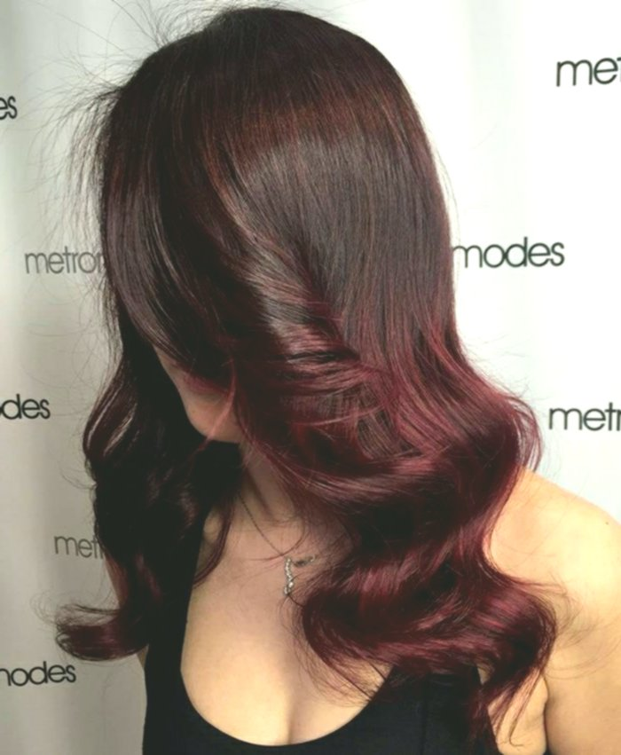 elegant red hair dyeing photo picture - Lovely red hair dyeing layout