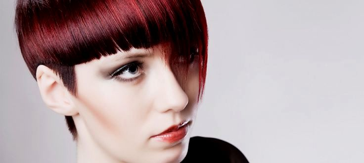 lovely short hairstyles fringed portrait-charming short hairstyles fringed models