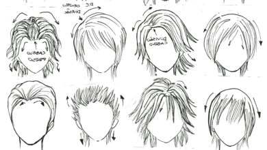 Photo of Top hairstyles drawing construction