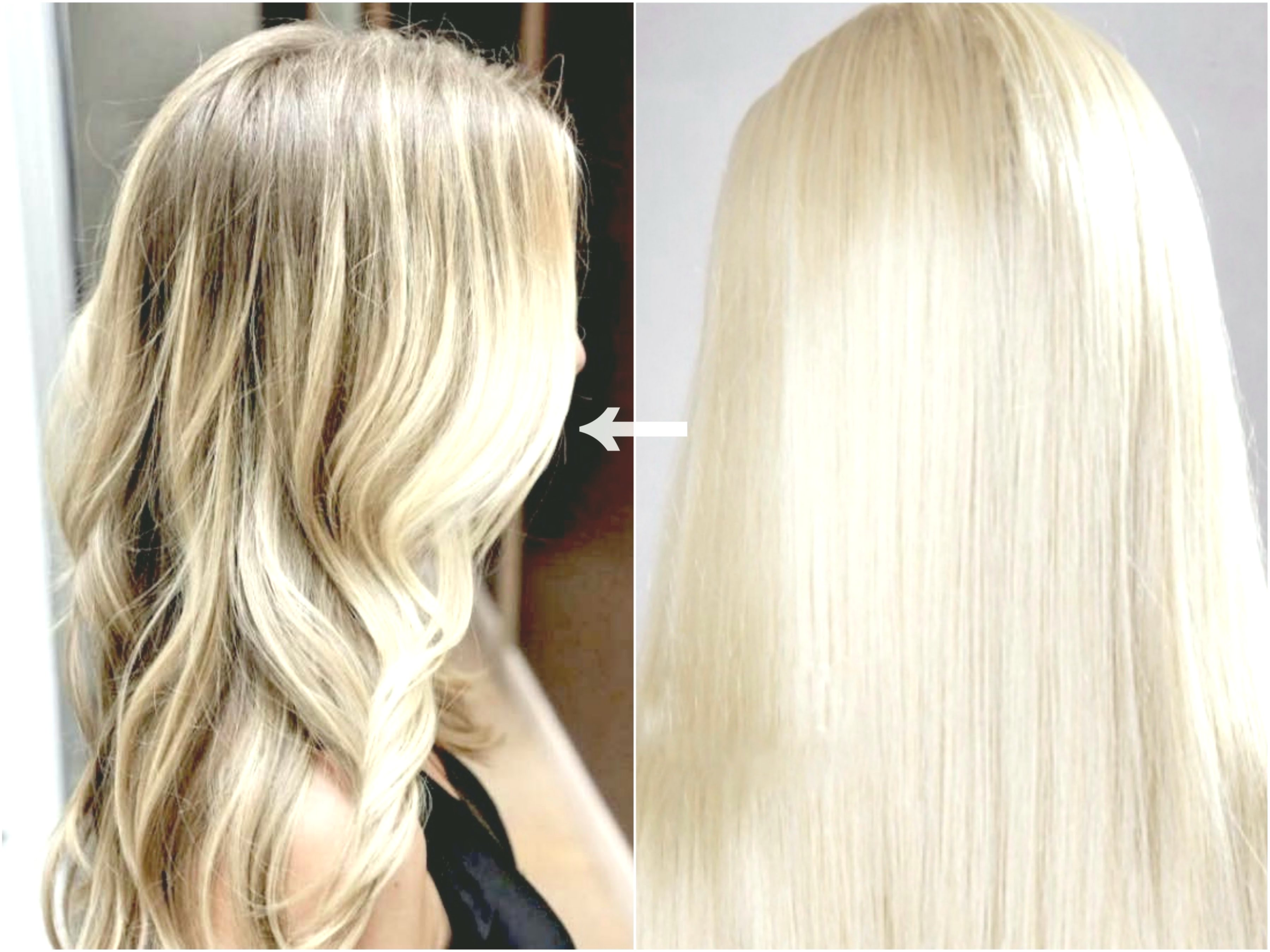 contemporary bleached hair dyeing photo Sensational bleached hair dyeing pattern
