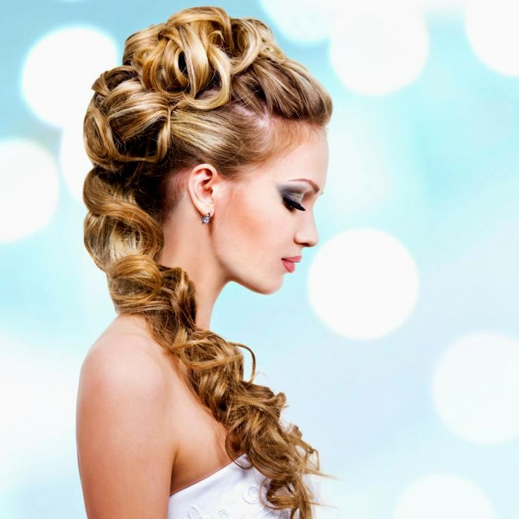 Lovely Wedding Hairstyles Curl Photo-Breathtaking Wedding Hairstyles Curl Models