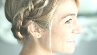Photo of Simple Braided Crown Hairstyle Tutorial: Sweet and easy hairstyles for vacations