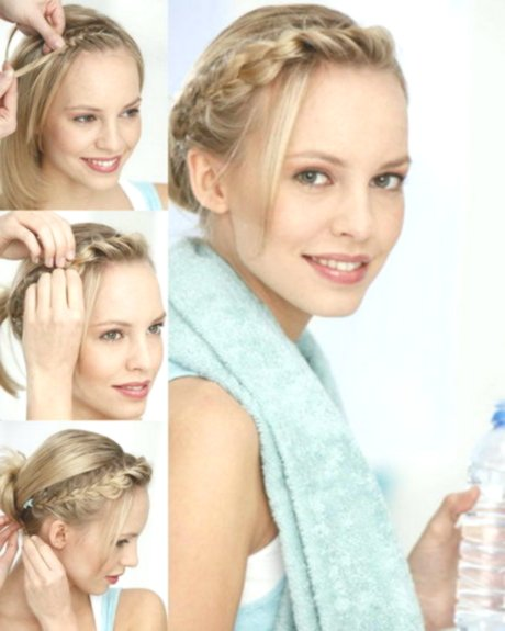 unique braided hair short hair décor-modern braiding Short hair pattern