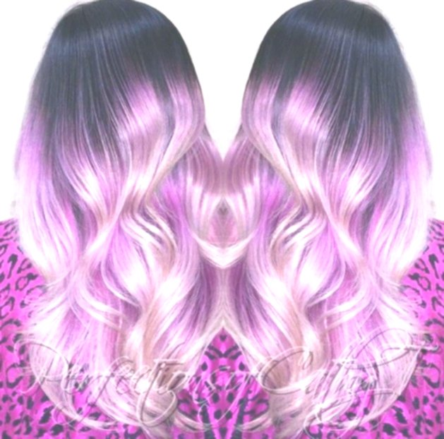 lovely pastel pink hair ombre picture-Stylish pastel pink hair ombre photo