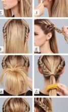 Photo of New instructions braided hairstyle architecture