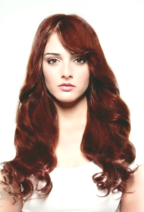 incredible red brown hair color picture-Wonderful red-brown hair color photo