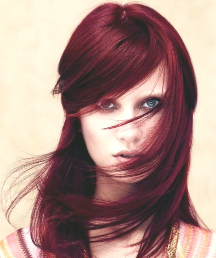 finest red hair decoration-fancy red hair layout