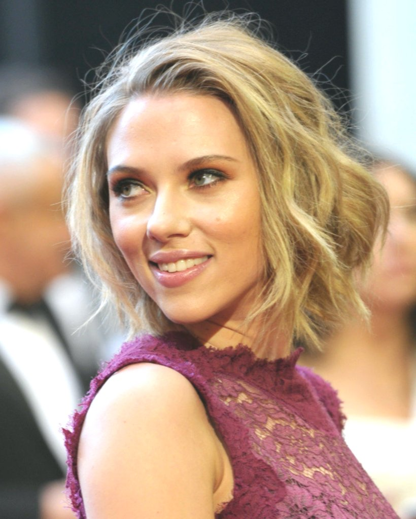 incredible scarlett johansson short hair photo picture-unique Scarlett Johansson Short Hair Gallery