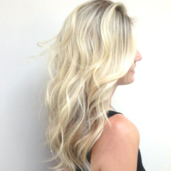 lovely brown hair with blond strands design-stylish brown hair with blond strands pattern
