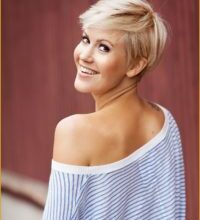 Photo of Terrific Hairstyles Short Blond Wall