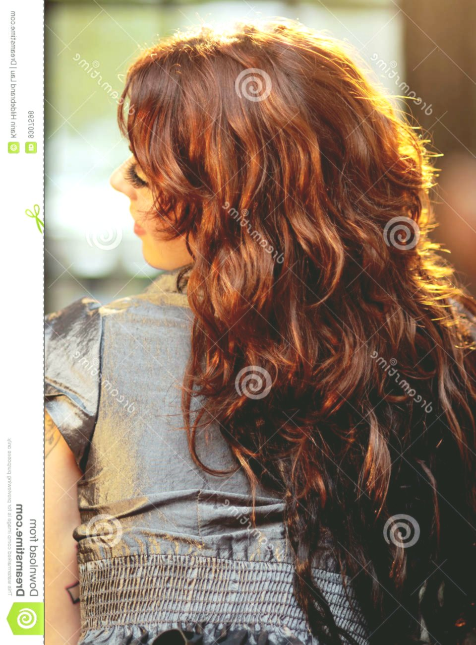 Beautiful Maroon Hair Online Lovely Maroon Hair Model