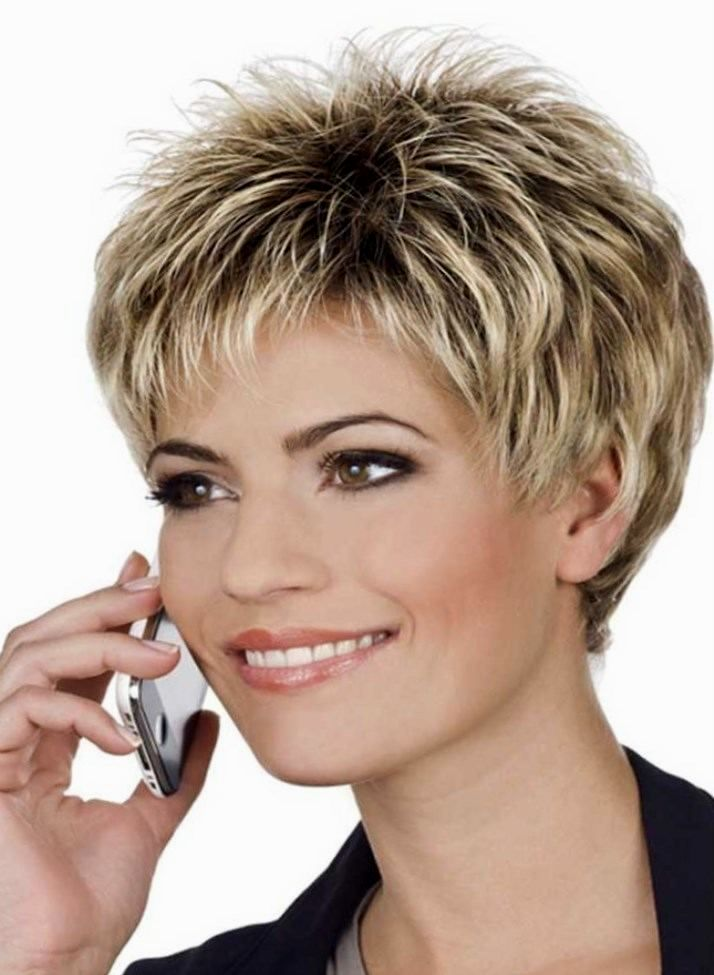 Stylish Ladies Short Hairstyle Inspiration-Lovely Ladies Short Haircut Image
