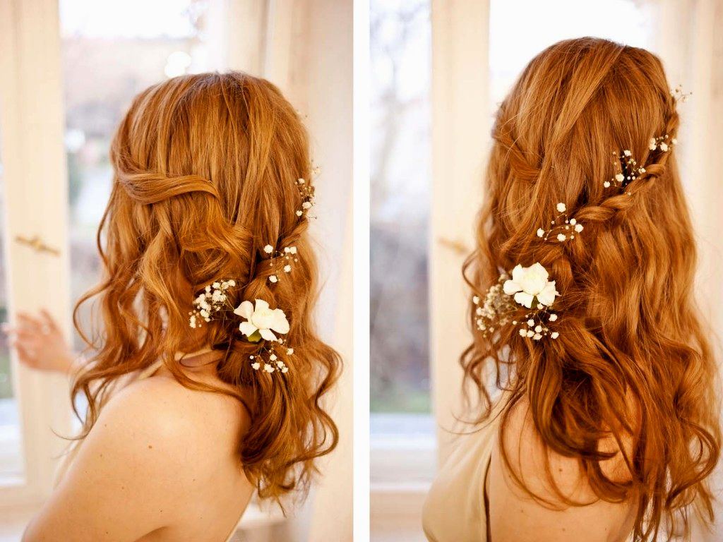 Romantic hairstyles decoration-Fresh Romantic hairstyles models