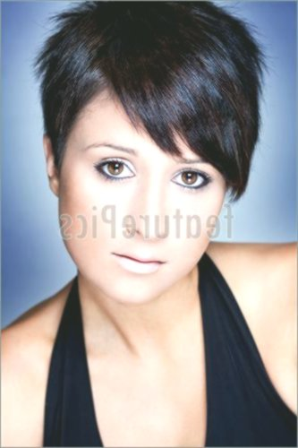 Modern Short Black Hair Plan Stylish Short Black Hair Model