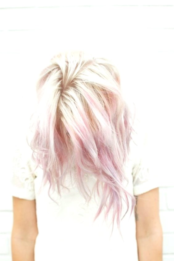 wonderfully stunning pastel pink hair ombre background-Stylish pastel pink hair ombre photo