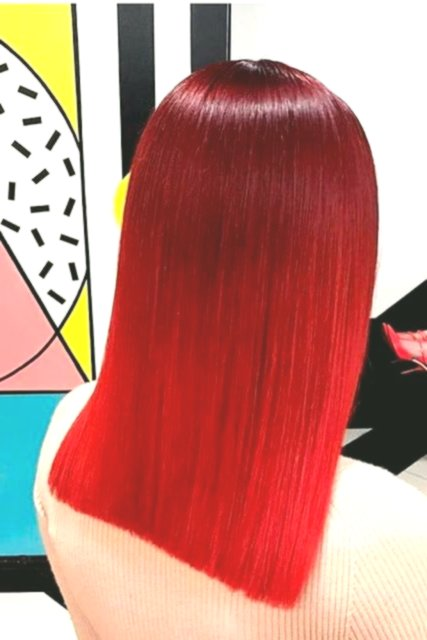 Beautifully Dyed Hair Construction Layout-Finest Dyed Hair Models