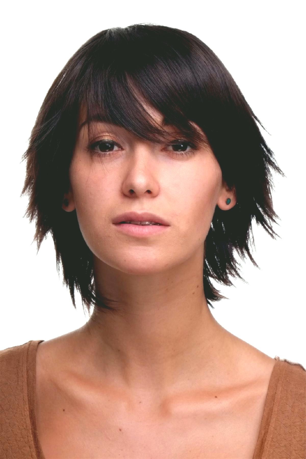best of shoulder-length hair brown collection-Wonderful shoulder-length hair brown decoration
