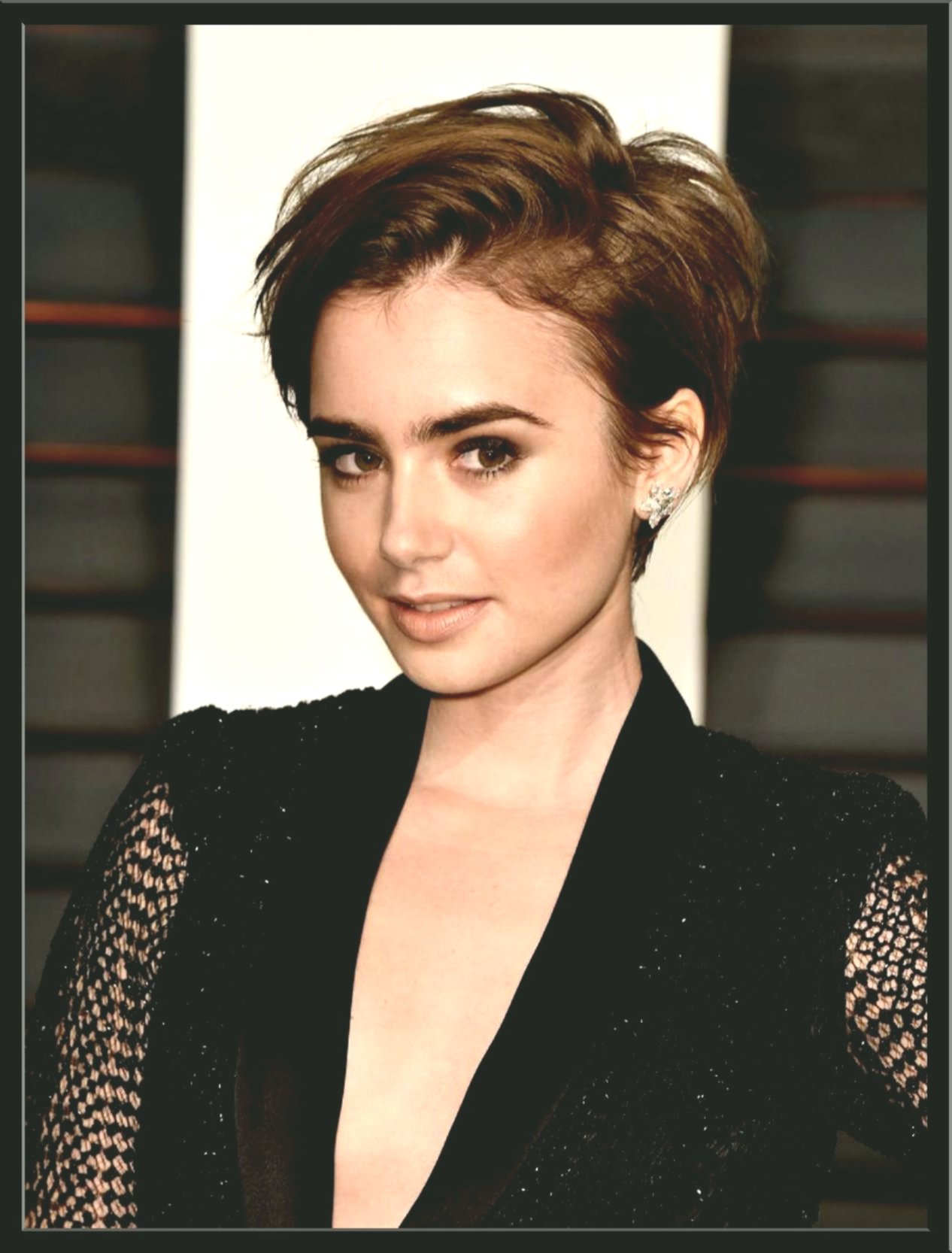 Best Short Hairstyles Style Portrait Best Of Short Hairstyles Styling Photo