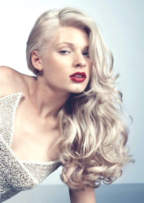 lovely hair color platinum blonde photo-Cute hair color platinum blonde image