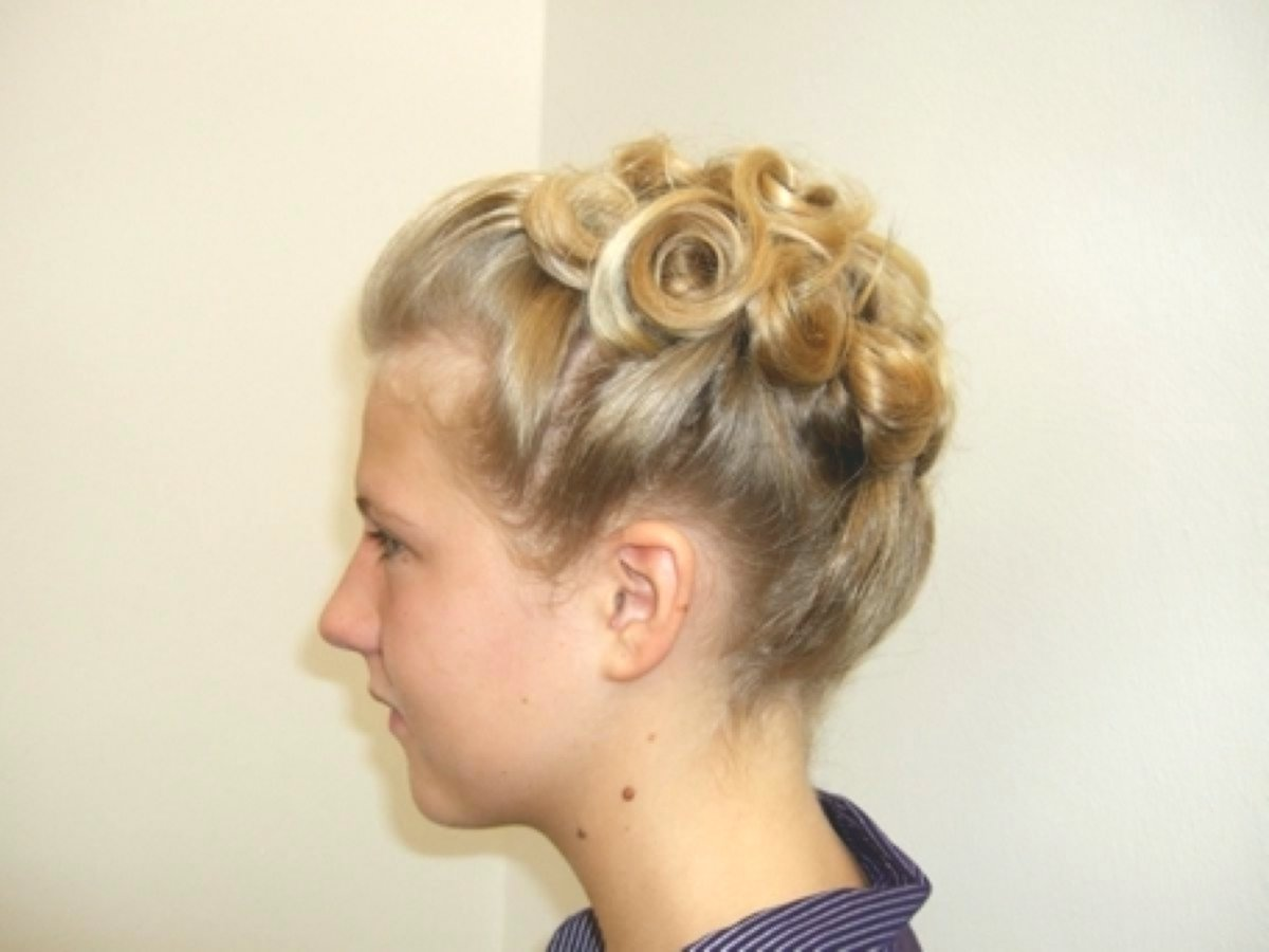 contemporary braid updos concept-Fantastic braided updo models