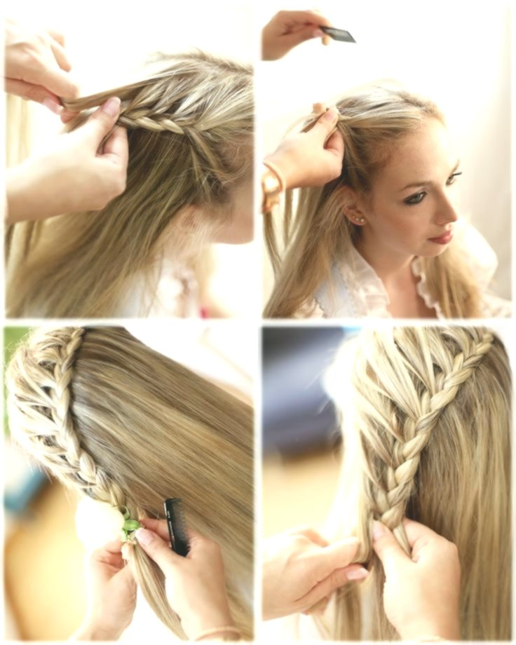terribly cool hair self braiding portrait-modern hair self braiding models