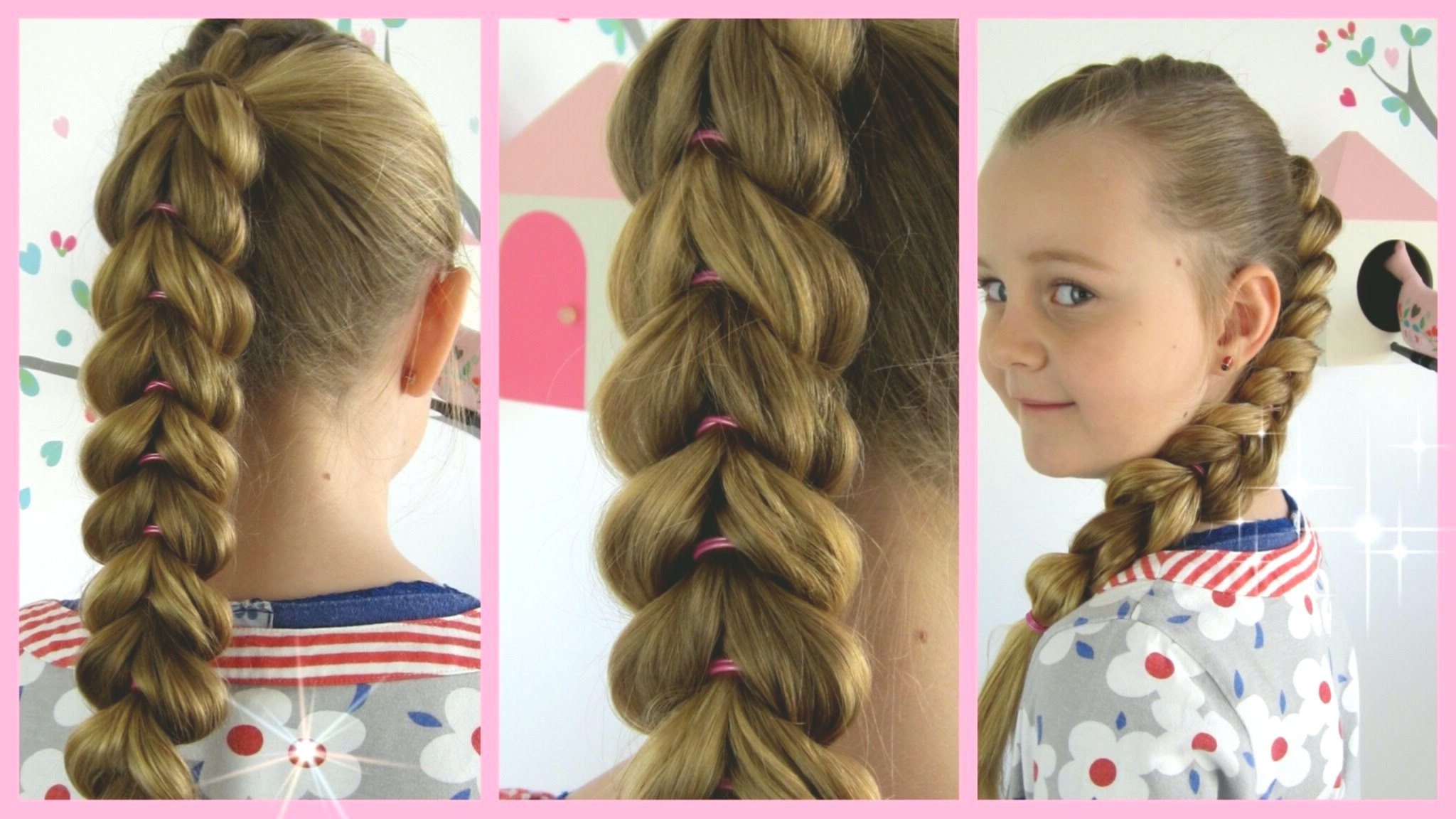 fresh children hairstyle decoration-Modern children hairstyle construction