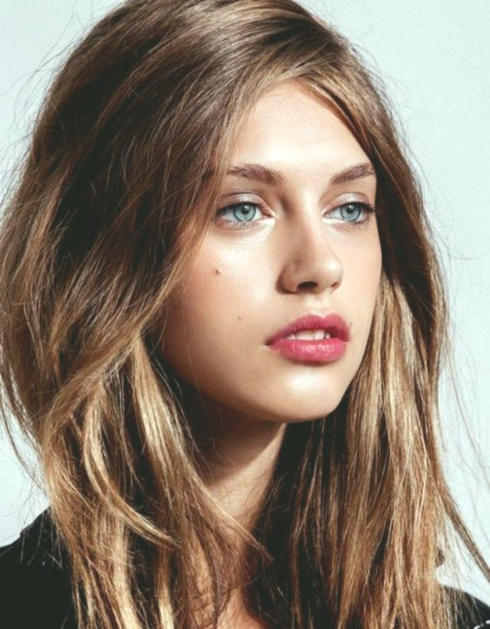 terribly cool brown hair blue eyes portrait-modern brown hair Blue eyes construction