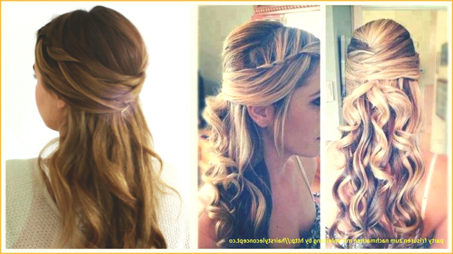 fresh party hairstyles design - Fascinating party hairstyles models
