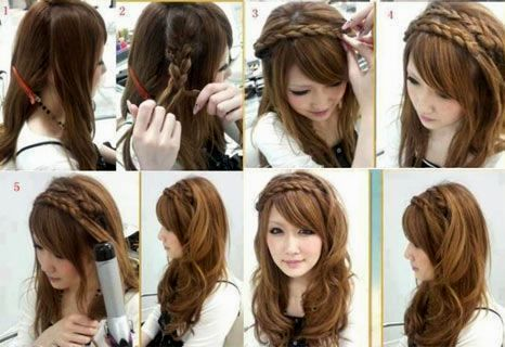 fancy braided hairstyles with pony décor-finest braided hairstyles With pony model