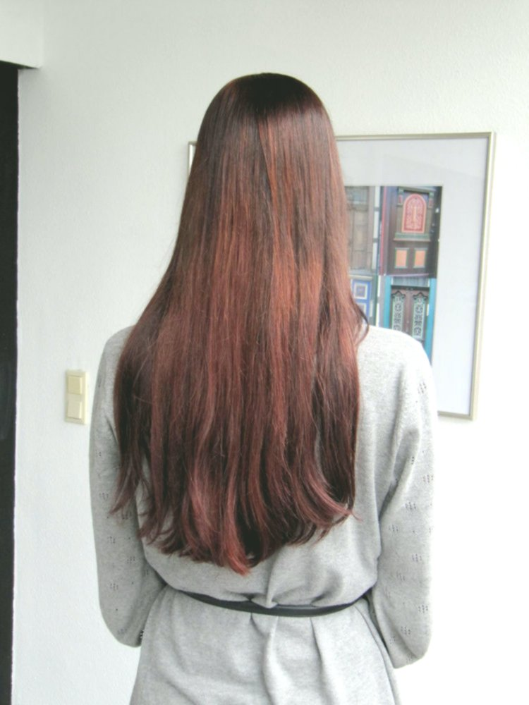 luxury hair dyeing red plan-Breathtaking hair-dyeing red wall