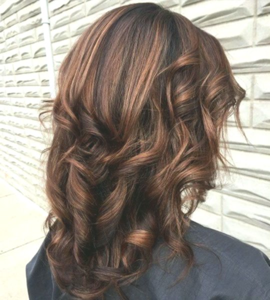 lovely brown hair with blond strands décor-stylish brown hair with blond strands pattern