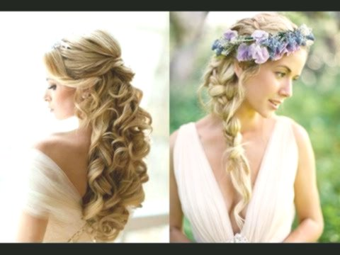 lovely wedding hairstyles medium-long hair pattern-Superb wedding hairstyles medium-long hair design