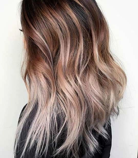 modern brown dyed hair blond dye inspiration-Fantastic Brown Dyed hair Blond dyeing pattern