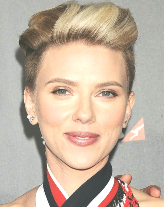 latest scarlett johansson short hair collection-Unique Scarlett Johansson Short Hair Gallery