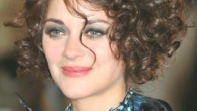 Photo of Marion Cotillard Curly hairstyles for short hair