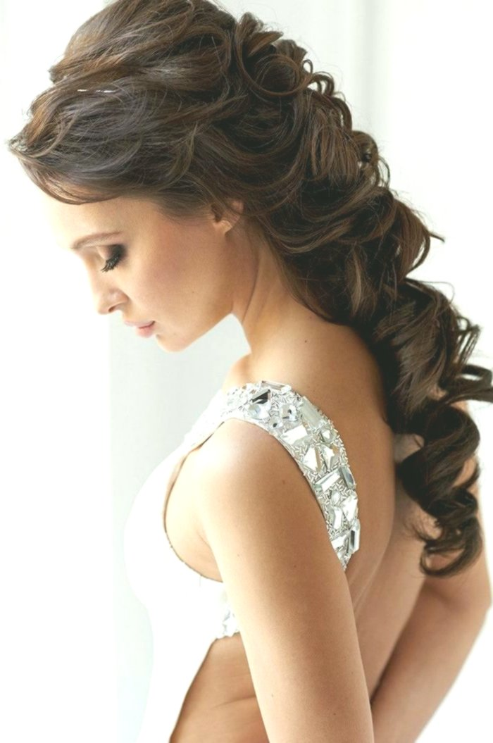 contemporary wedding hairstyles curl portrait-Charming wedding hairstyles curls collection
